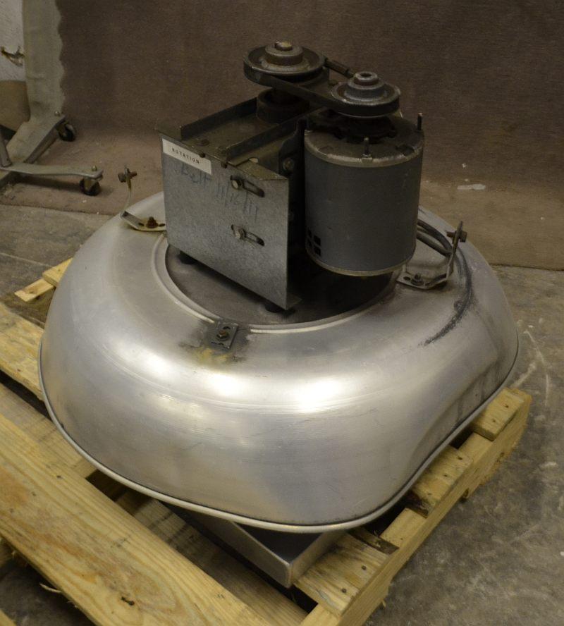 Loren cook 1 4 hp 115v roof exhaust fan restaurant kitchen for 1 3 hp attic fan motor