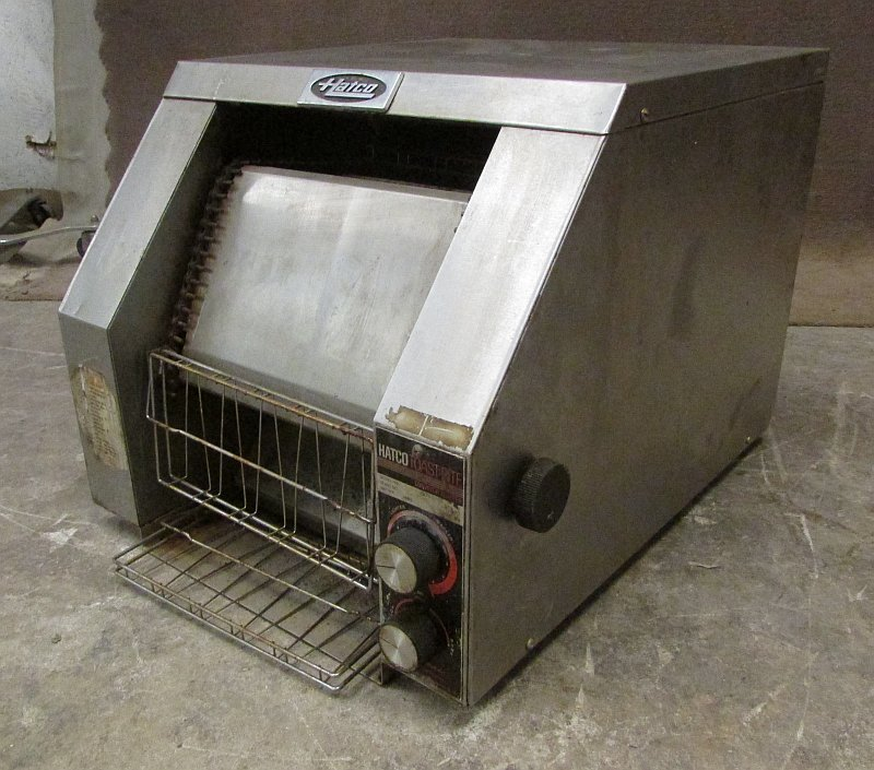 Electric Conveyor Toaster ~ Hatco trh electric conveyor toaster oven ebay