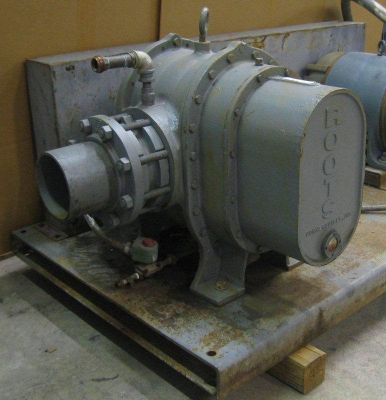 Dresser Roots Rotary Lobe Vacuum Pump Blower 50HP Motor